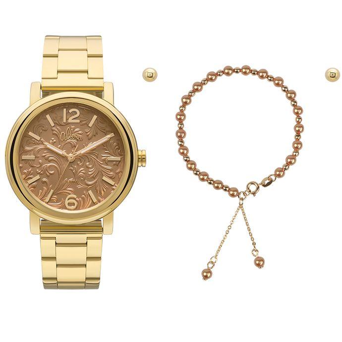 106a2a1f02 Relógio Allora Feminino AL2036CH K4X - Dourado