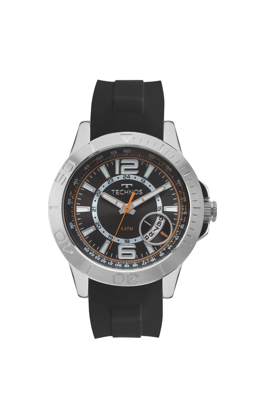Relógio Technos Masculino Racer 2315KZN 8P - Preto   Opte+ e85f0d4012