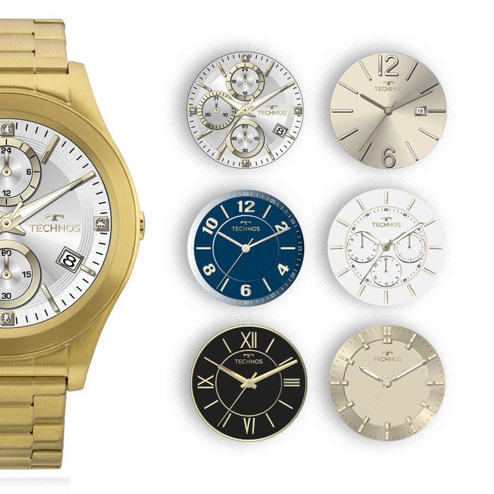 Relógio Technos Connect Full Display 3.0 Dourado SRAE 4P - technos a288361cb9
