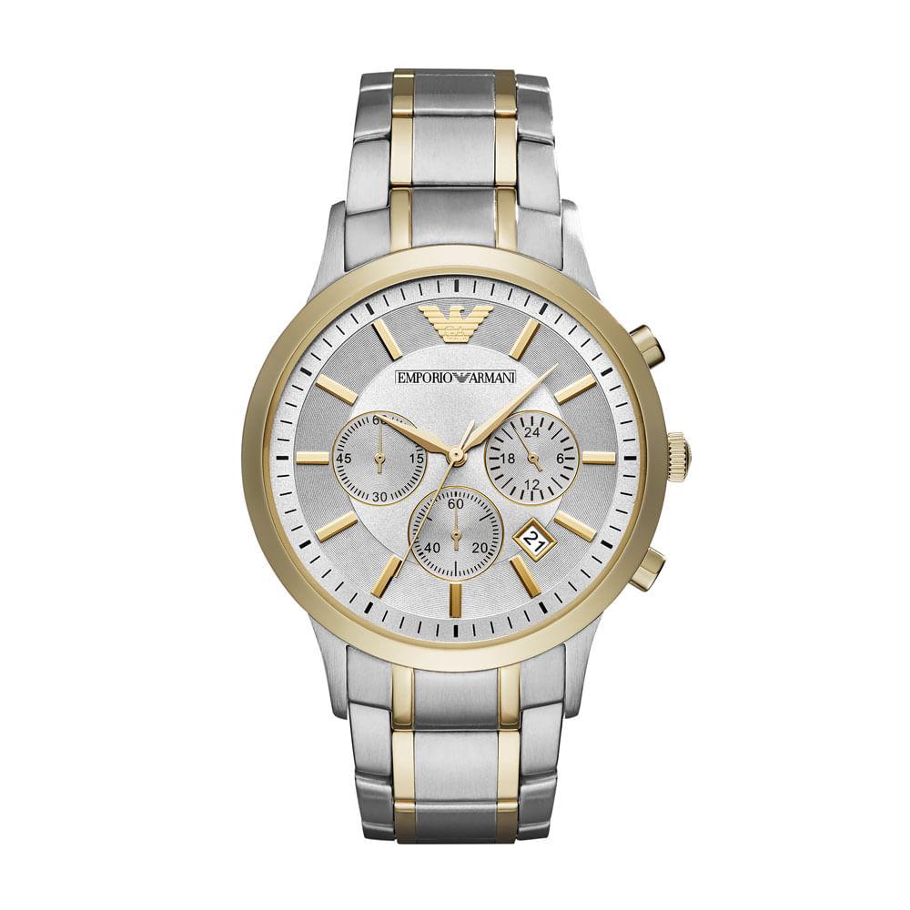 Relógio Emporio Armani Masculino Renato - AR11076 5KN - timecenter a353effd2d