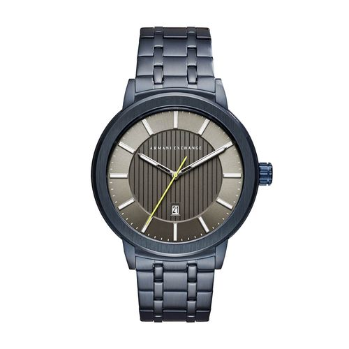 dc7d19ec1d7 Time Center · Relógio Armani Exchange Azul ...