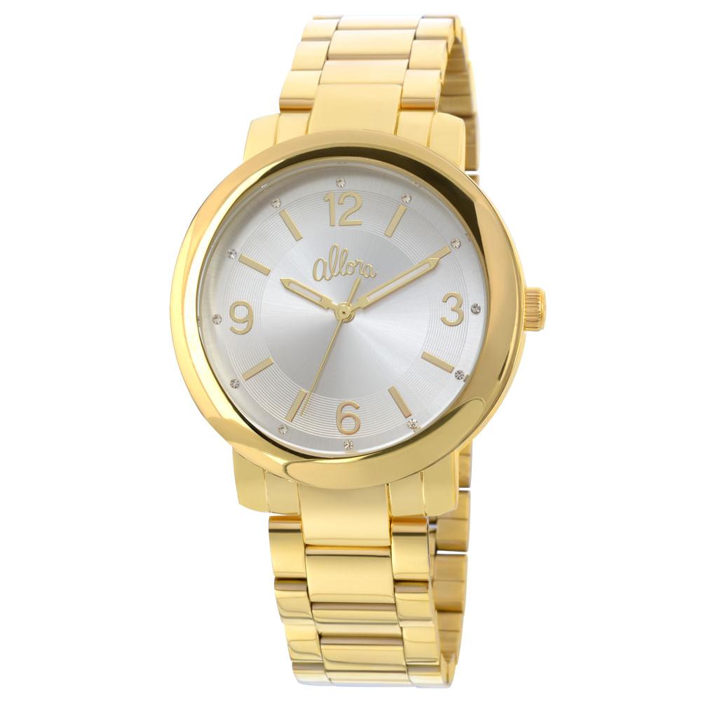 Relógio Allora Feminino AL2035EYL K4B - Dourado - timecenter 1fe31aa225