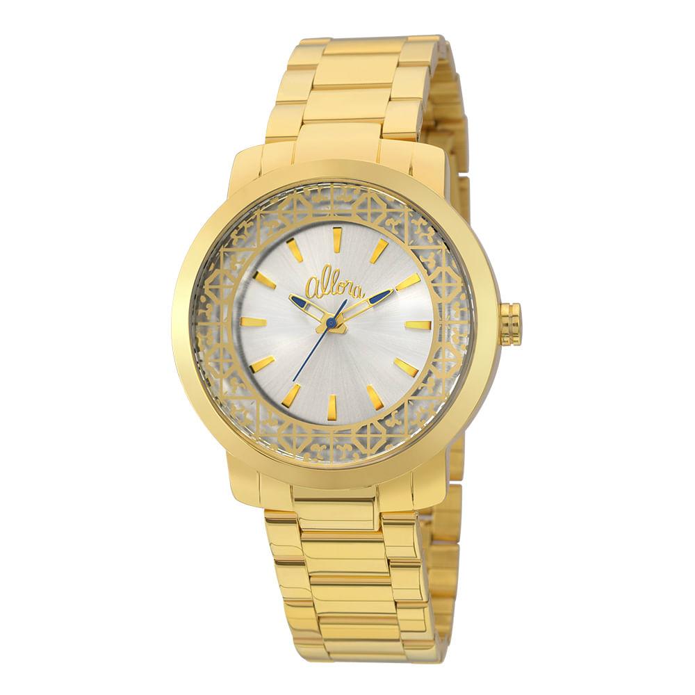 ba01da0fe92 Relógio Allora Feminino AL2035EYZ K4D - Dourado - timecenter