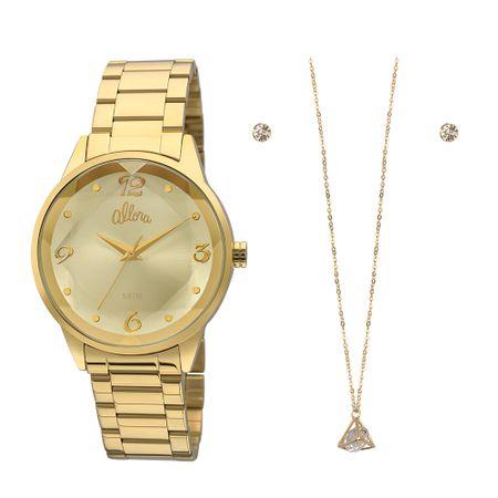 Relógio Allora Feminino  AL2035FKO/K4X - Dourado