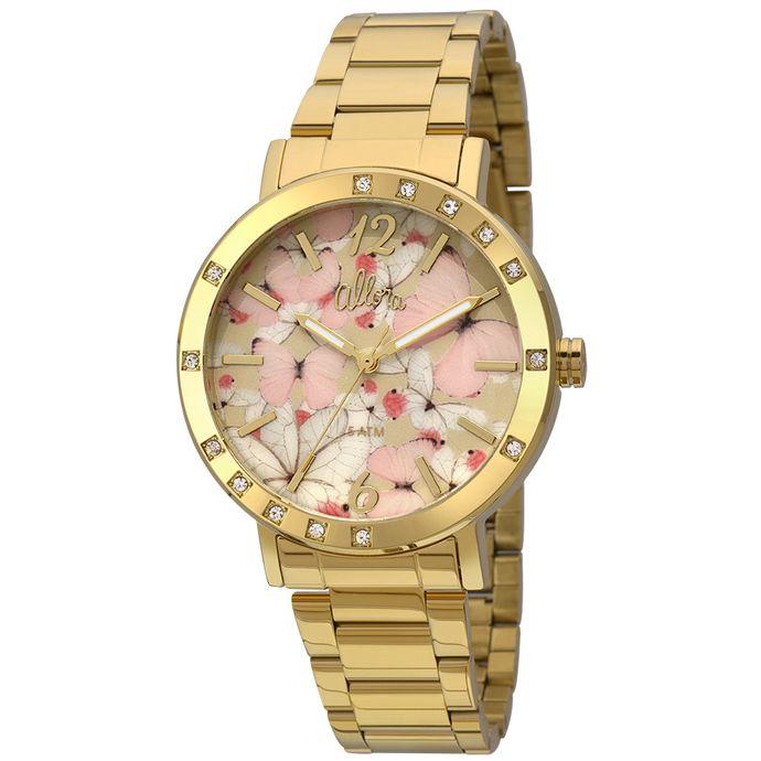 Relógio Allora Feminino Tramas Étnicas AL2035FFS 4T - Dourado ... 753098ca29