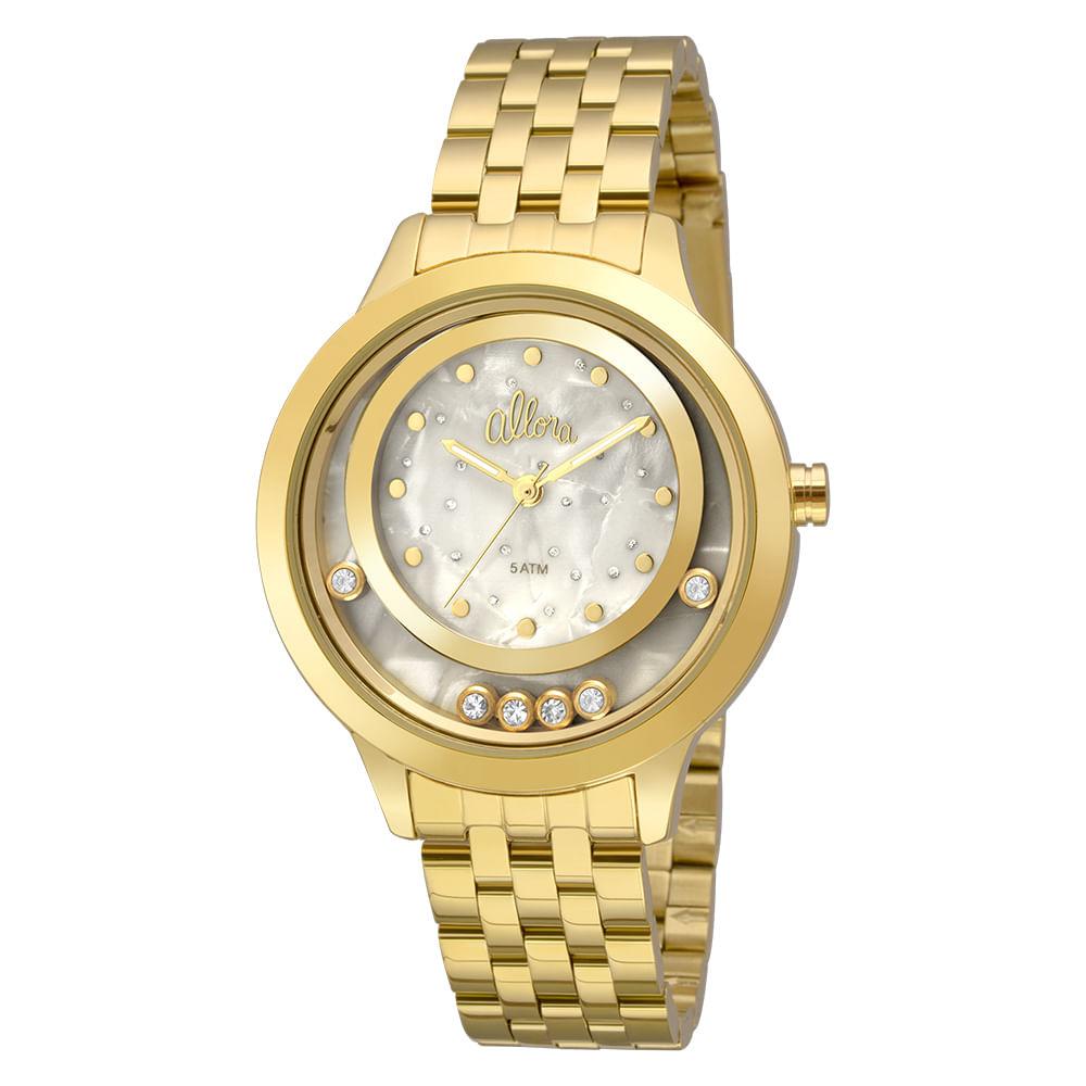 Relógio Allora Feminino AL2036FGV K4B - Dourado - timecenter aeafdfdf7b