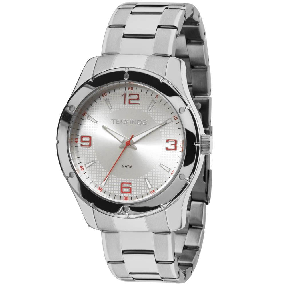Relógio Technos Masculino Racer 2115MLO 1K - Prata - timecenter 0d7c74a062