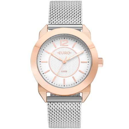 Relógio Euro Feminino Geometric Power Rosé - EU2036YLT/4J