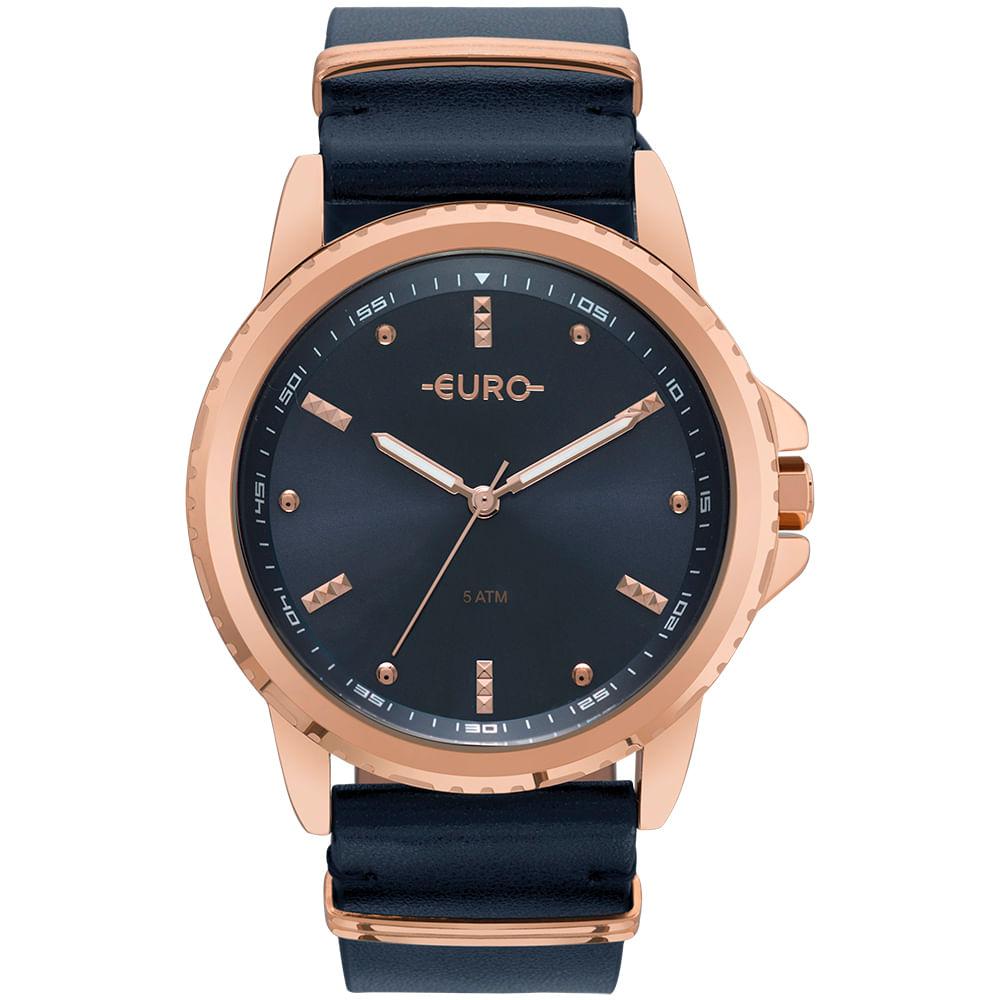Relógio Euro Feminino Spike Basics Rosé - EU2035YNM 4A - timecenter a82eb5e534