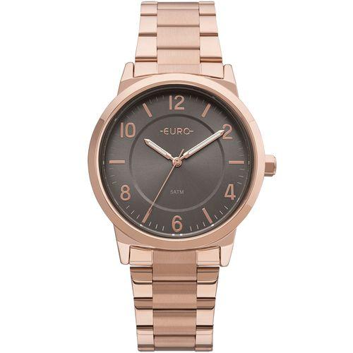 702a9e3c317 Relógio Euro Feminino Bicolor Trendy Rosé - EU2036YLY 4J