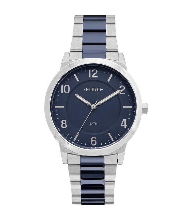 627688456c Relógio Euro Feminino Bicolor Trendy Prata - EU2036YLX 5K