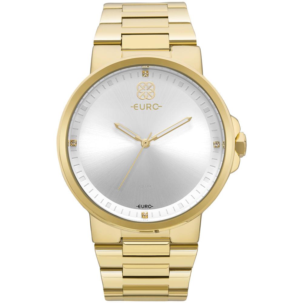 Relógio Euro Feminino Minimal Dourado - EU2035YLD 4B - timecenter 6b6bb2ffe6