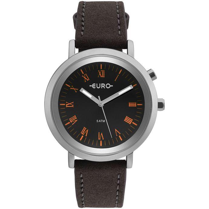 fc3f7b682ae Relógio Euro Feminino Espelhados EU2036YLB 3K - Prata - Tempo de ...