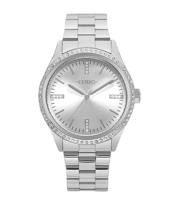 840734dedc0 Relógio Euro Feminino Pedras Prata - EU2035YNR 3K