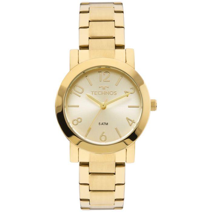 6529eb22a9236 Relógio Technos Feminino Elegance Boutique Dourado - 2035MLN 4X ...
