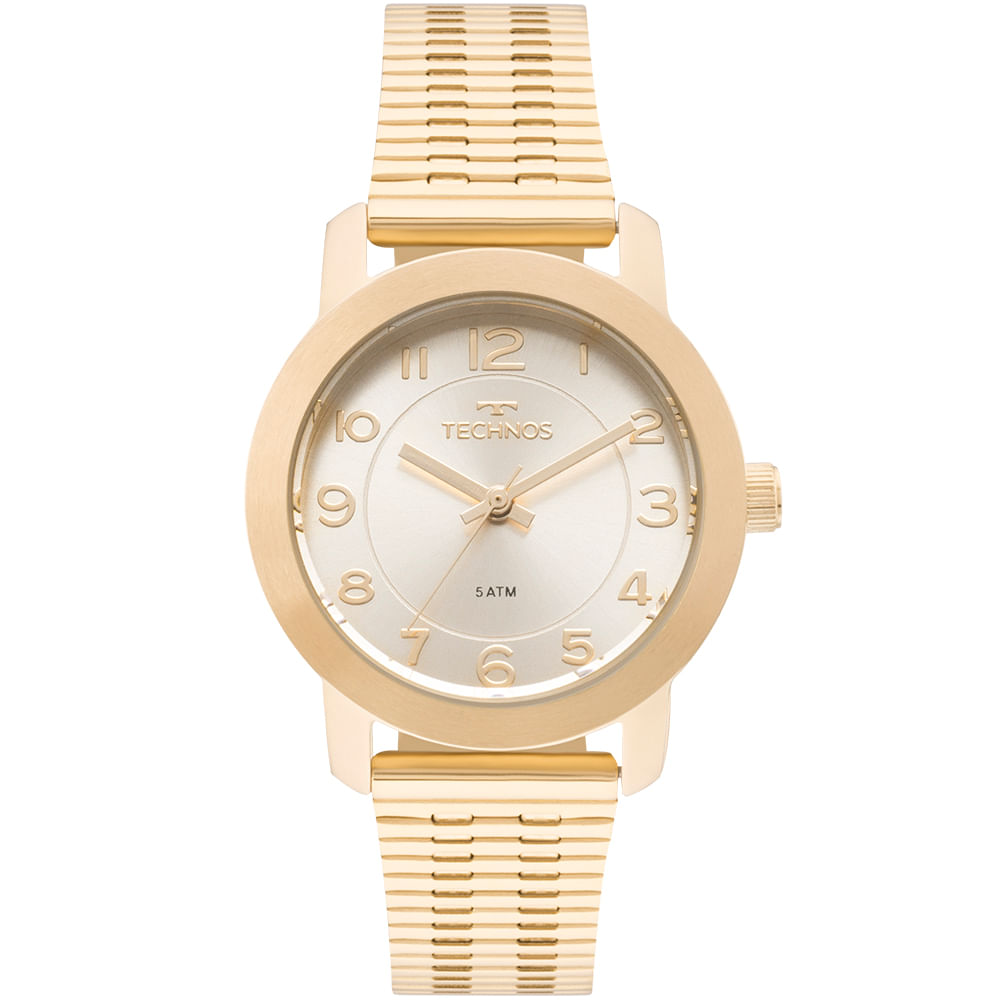 bbd21601d83 Relógio Technos Feminino Elegance Boutique Dourado - 2035MLR 4B ...