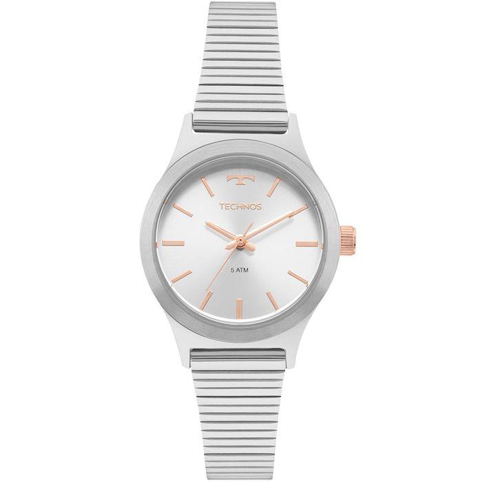 bca97b988f6 Relógio Technos Feminino Elegance Boutique Prata - 2035MMH 1K - technos