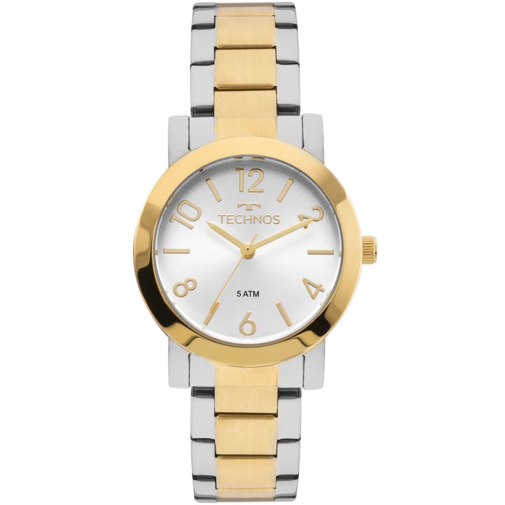 97c68b9baa9 2035MLO5K. 2035MLO5K. Technos. Relógio Technos Feminino Elegance Boutique  Bicolor ...