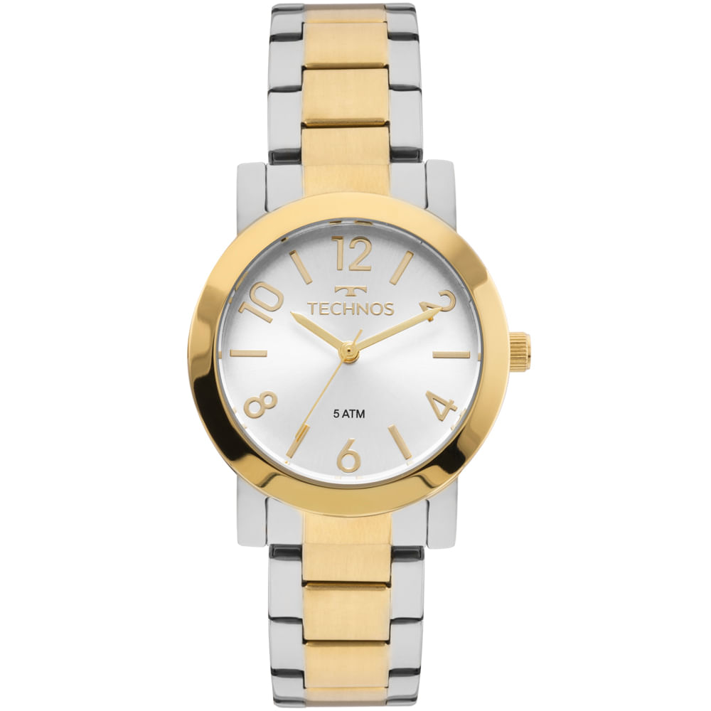 Relógio Technos Feminino Elegance Boutique Bicolor - 2035MLO 5K ... d1c09fddb0