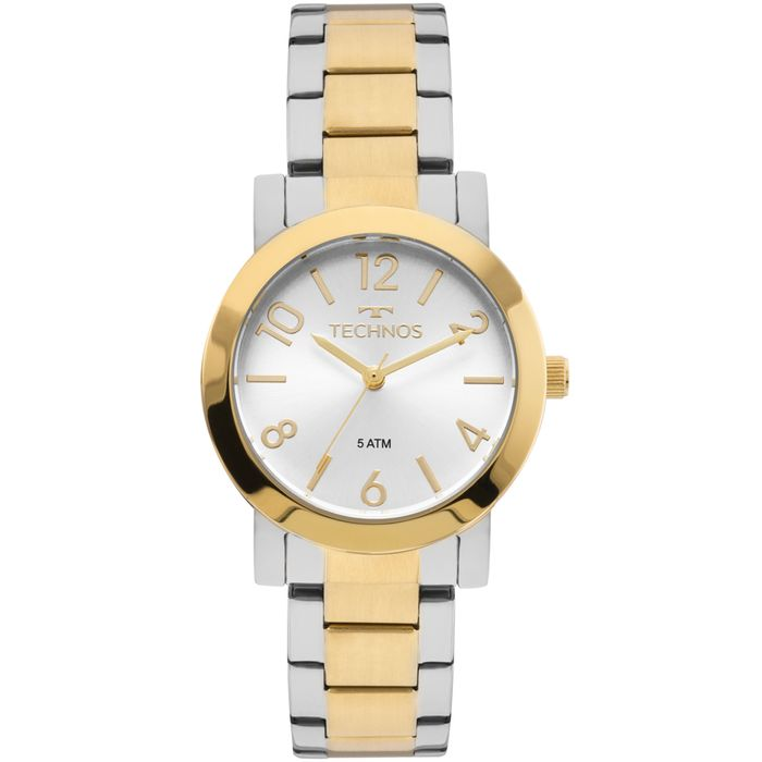 9148988d37e Relógio Technos Feminino Elegance Boutique Bicolor - 2035MLO 5K ...