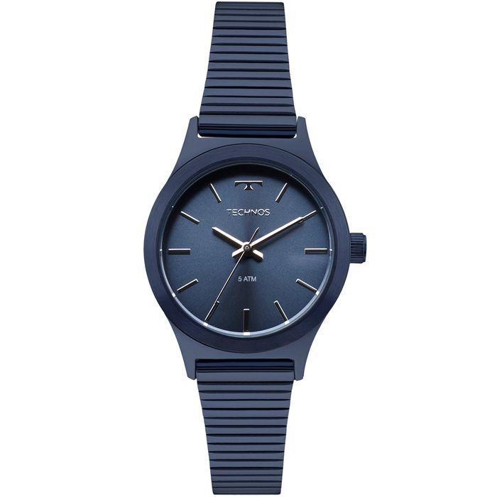 f9700bfdd30 Relógio Technos Feminino Elegance Boutique Azul - 2035MMI 4A - technos