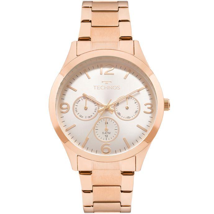 Relógio Technos Feminino Elegance Dress Rosé - 6P29AJM 4K 34b94a6c9a
