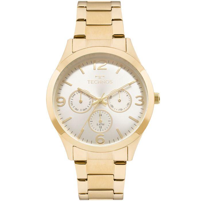Relógio Technos Feminino Elegance Dress Dourado - 6P29AJH 4K - technos 10096798a7