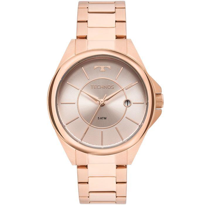 0637b71e683f6 Relógio Technos Feminino Elegance Dress Rosé - 2115MOP 4C - technos