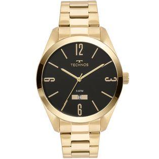 Relogio-Technos-Masculino-Classic-Steel-Dourado---2115MNW-4P