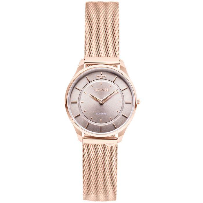 7c807d461a9de Relógio Technos Unissex Classic Slim Rosé - 9T22AL 4C - technos