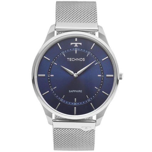 Relogio-Technos-Unissex-Classic-Slim-Prata---9T22AI-1A