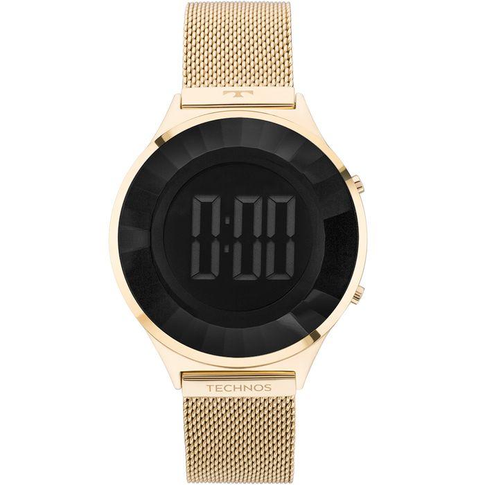 Relógio Technos Feminino Elegance Crystal Dourado - BJ3572AA 4P ... 3ae45b60f9