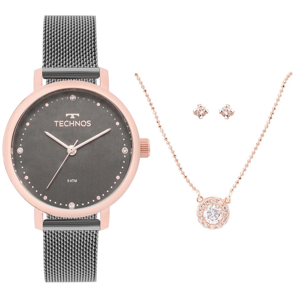 b24428acdc434 Relógio Technos Feminino Fashion Trend Bicolor - 2035MMO K5C ...