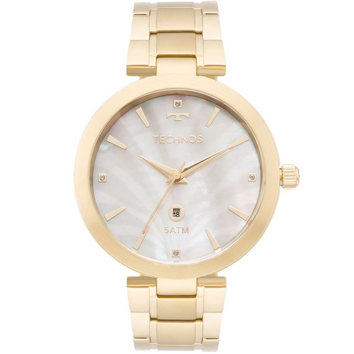 Relógio Technos Feminino Elegance St.Moritz Dourado - GL10ID 4B e4d6dd6e0f