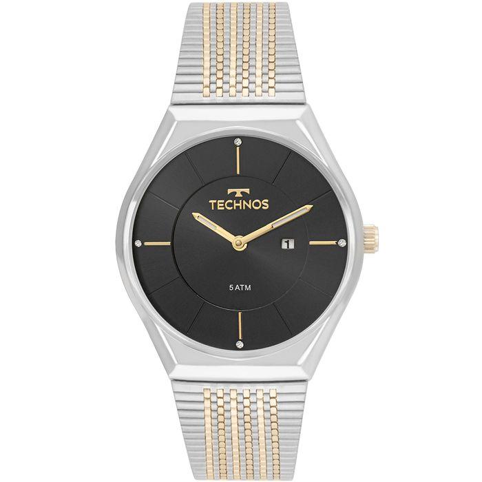 374cf69dc43 Relógio Technos Masculino Novo Olhar Bicolor - GL15AS 5P - technos