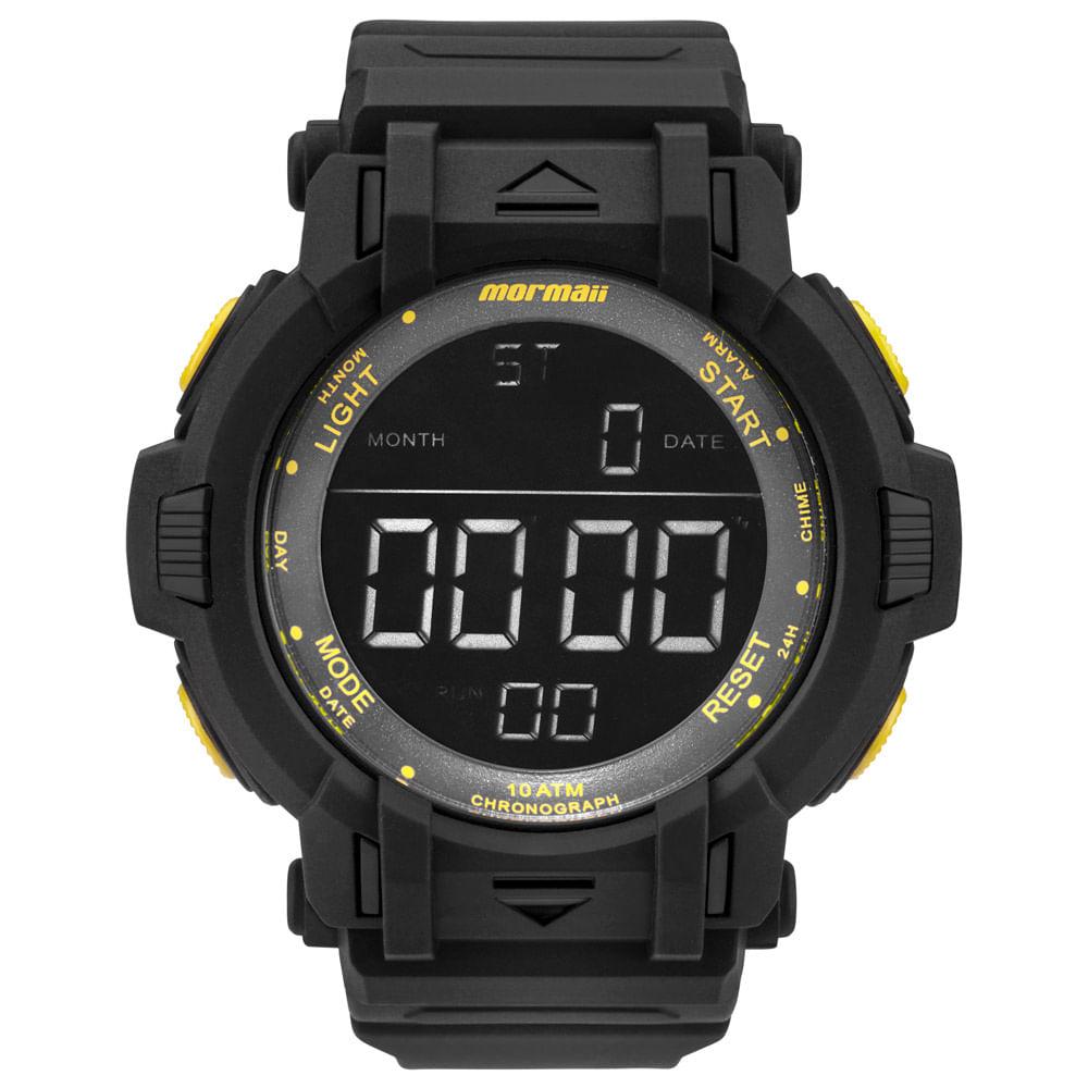 30acb7ef8ca Relógio Mormaii Masculino Acqua Action Preto - MOM08111C 8Y - timecenter