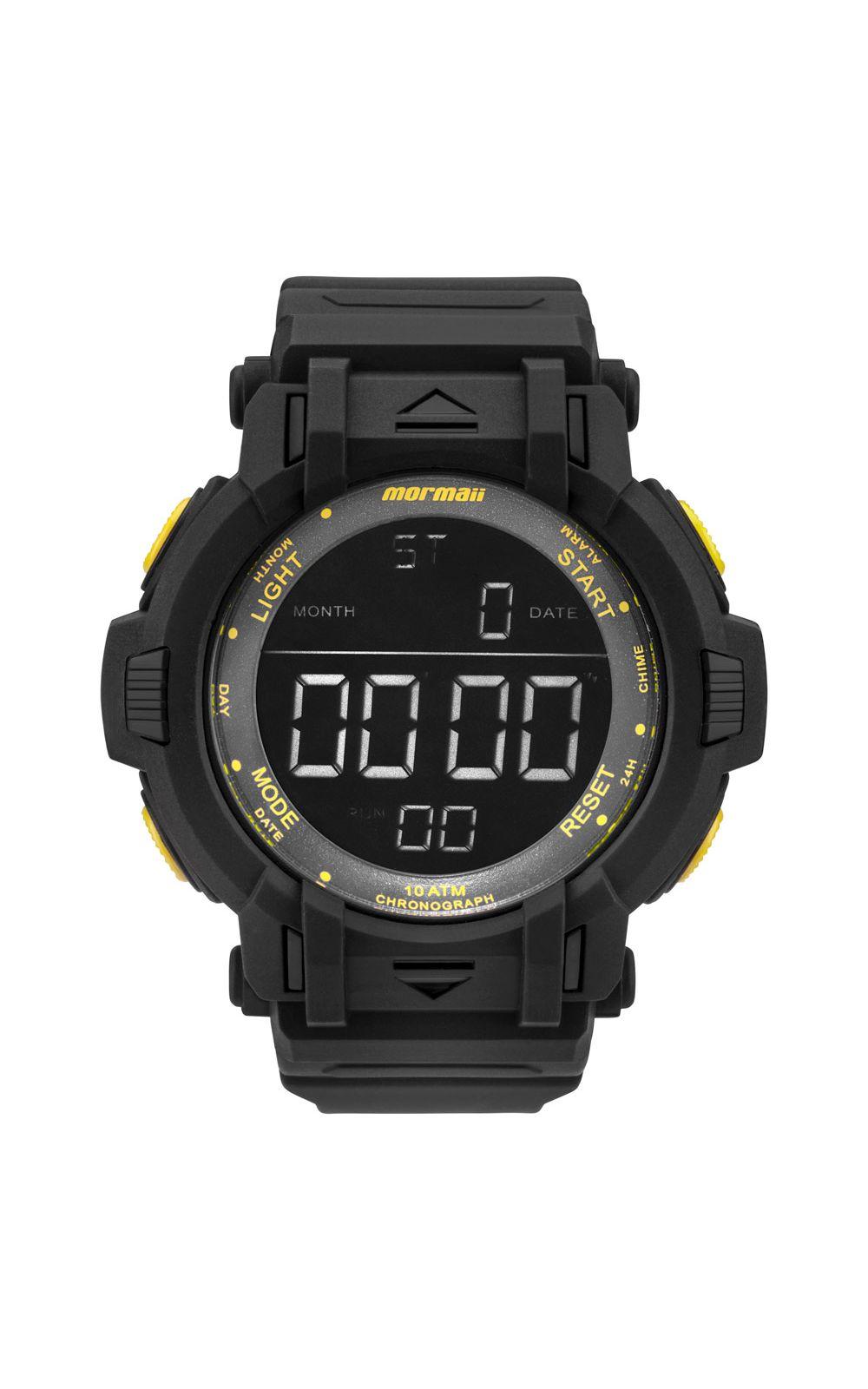 Relógio Mormaii Masculino Acqua Action Preto - MOM08111C 8Y. undefined 5ae2b577b9