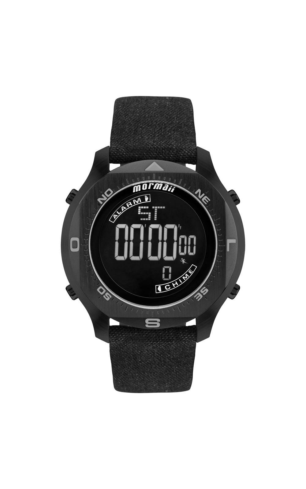 10142365e Relógio Mormaii Masculino Acqua Pro Preto - MO11273D/2P | Opte+