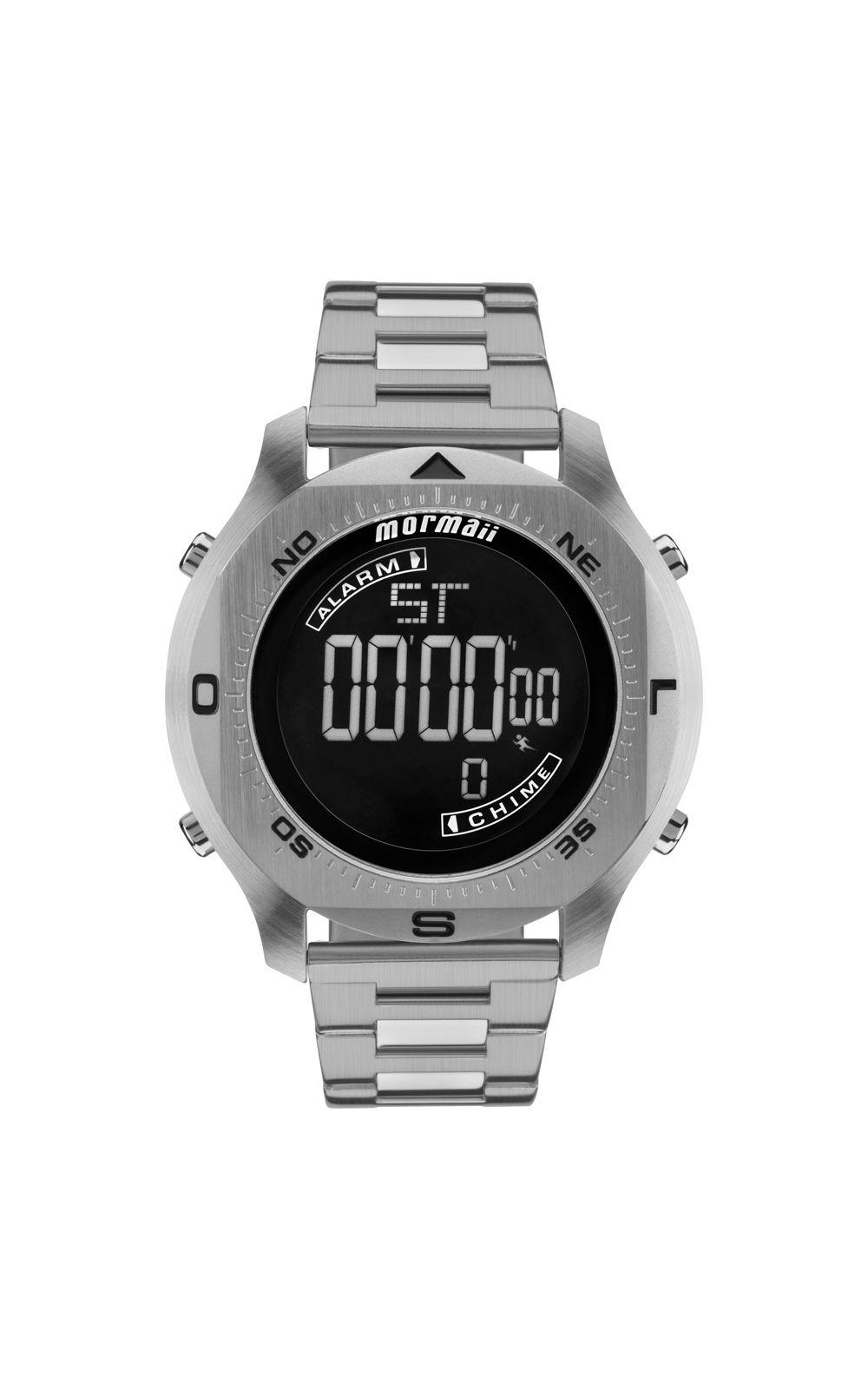 899cbc04076b2 Relógio Mormaii Masculino Acqua Pro Prata - MO11273C 1P