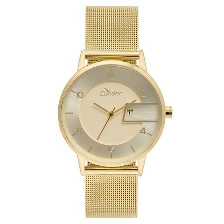 66d9243d4e8b8 Relógio Condor Feminino Eterna Bracelete Dourado - COGL10BP K4D