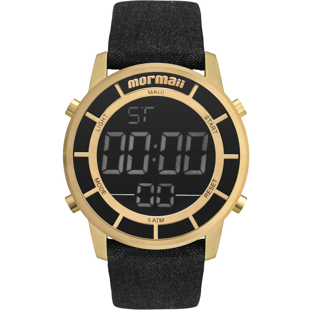 b588ed85457f7 Relógio Mormaii Feminino Maui Sunset Dourado - MOBJ3463DE 2X ...