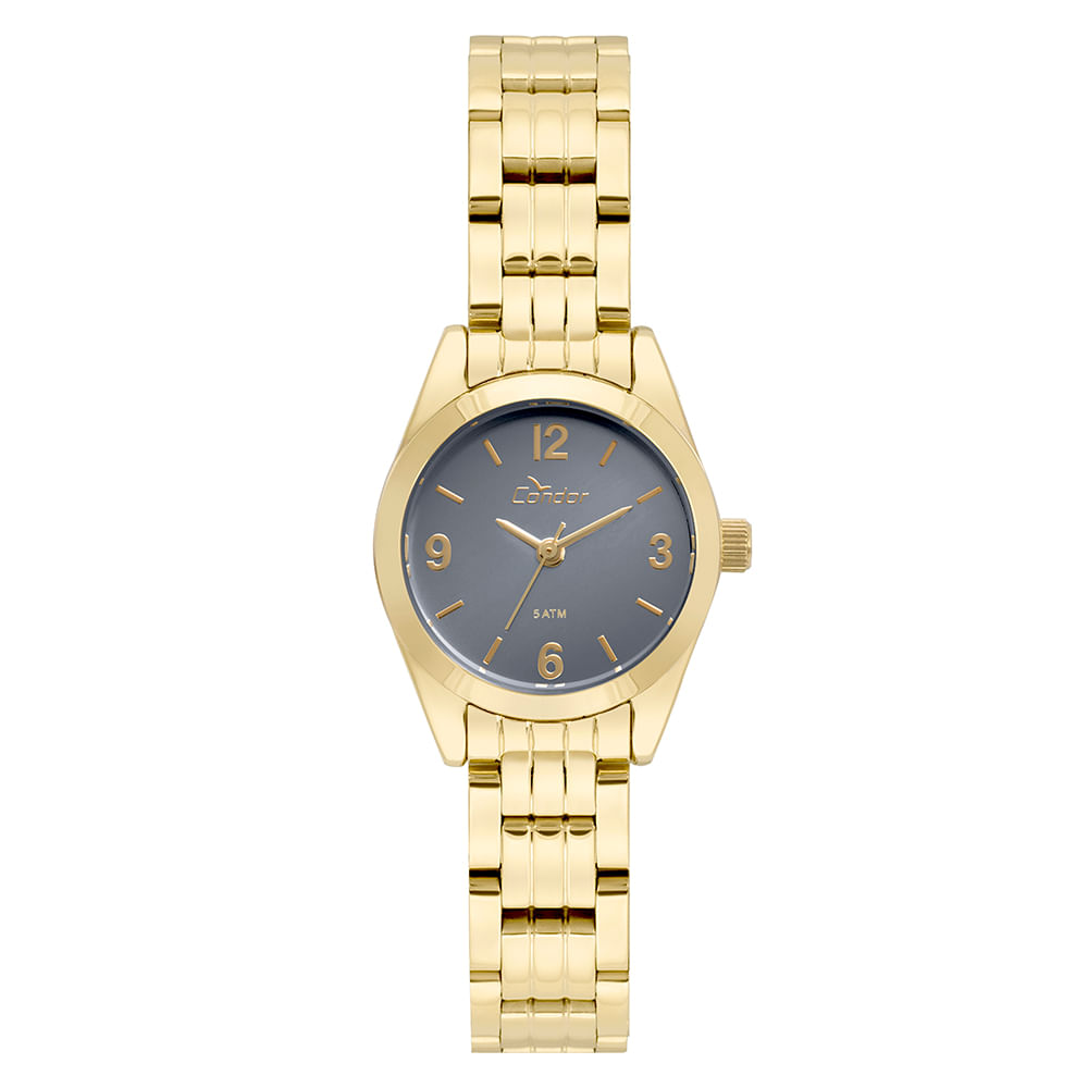 e69563efa76 Relógio Condor Feminino Eterna Mini Dourado - CO2036KUA 4A - timecenter