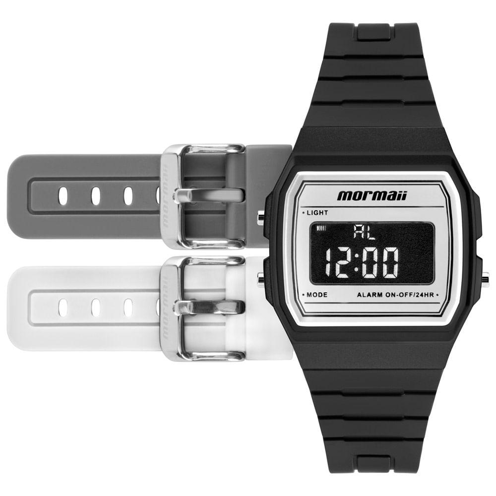 1014a38bc9052 Relógio Mormaii Unissex Maui Vintage Não Definido - MOJH02AM 4B ...