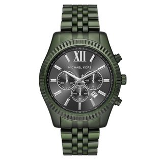 cd3d8440418 Relogio-Michael-Kors-Feminino-Essential-Lexington-Verde-Militar-