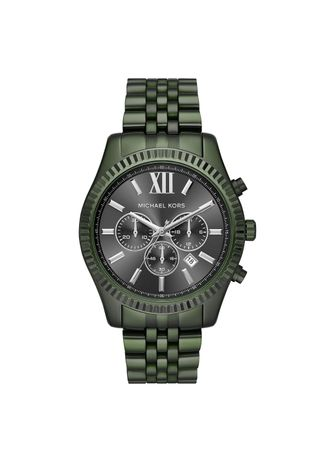 Relogio-Michael-Kors-Feminino-Essential-Lexington-Verde-Militar---MK8604-1VN
