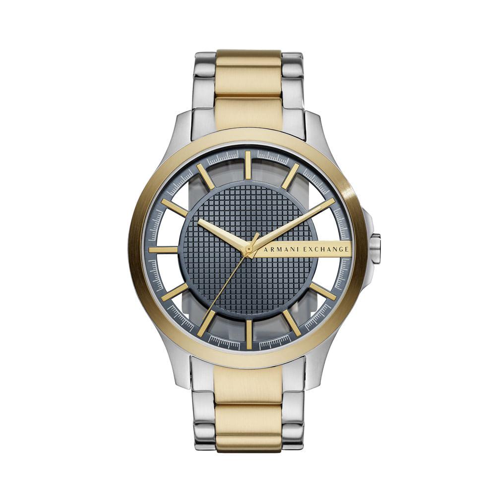 3ba7b0b9e9a Relógio Armani Exchange Masculino Classic Hampton Bicolor - AX2403 ...