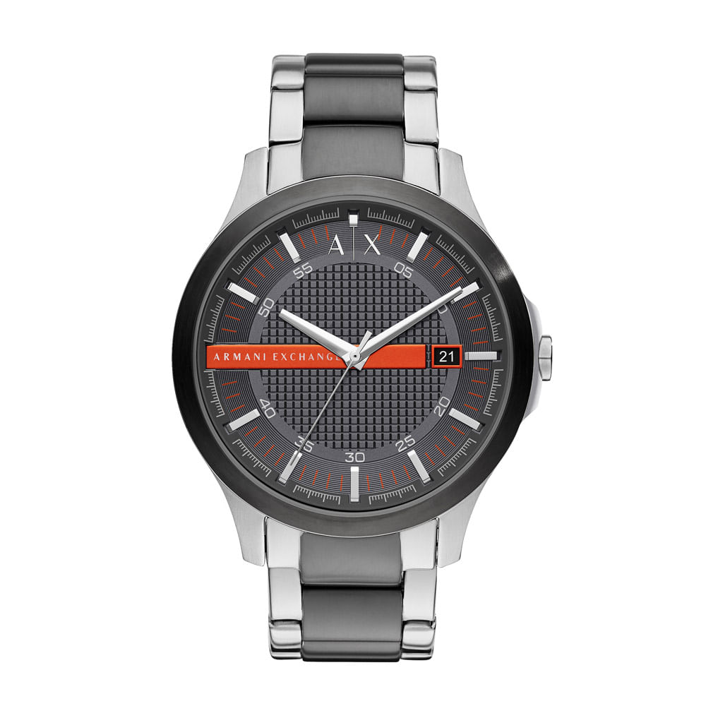 ae283b9552e Relógio Armani Exchange Masculino Classic Hampton Bicolor - AX2404 ...