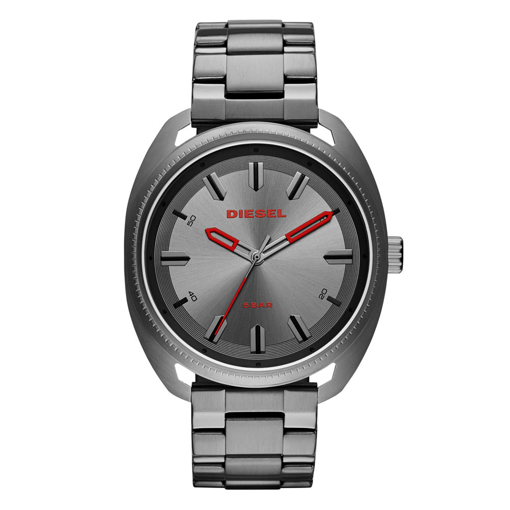 6e66158d675 Relógio Diesel Masculino Basic Fastbak Grafite - DZ1855 1CN - timecenter