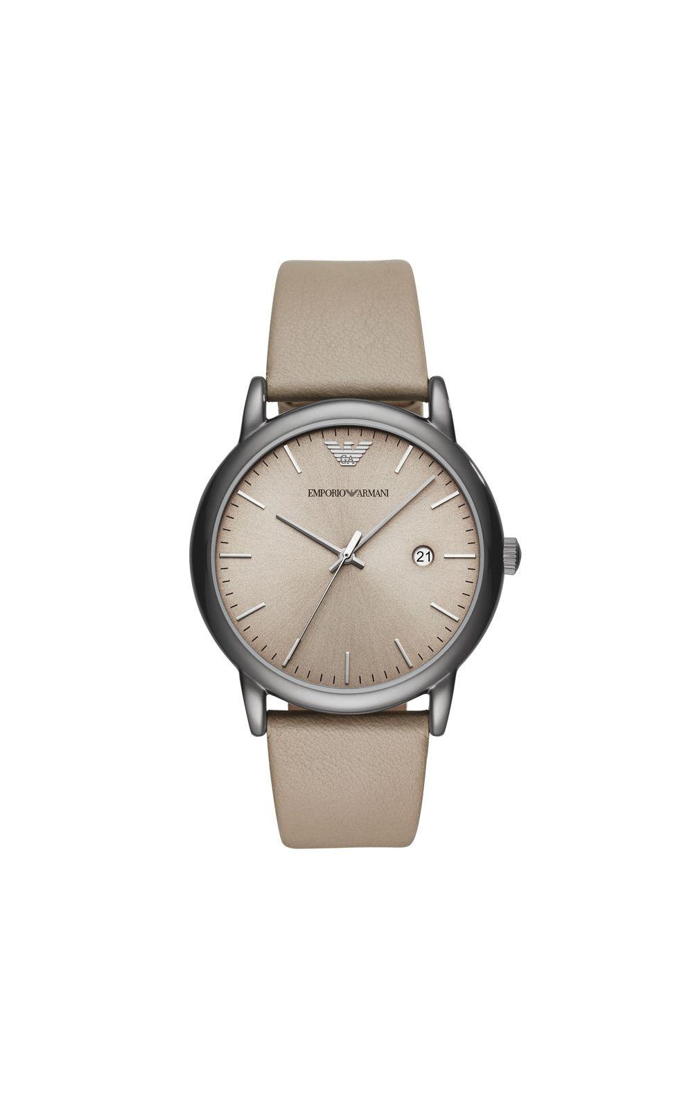 21d592f079b Relógio Empório Armani Masculino Classic Luigi Bege - AR11116 0MN. undefined