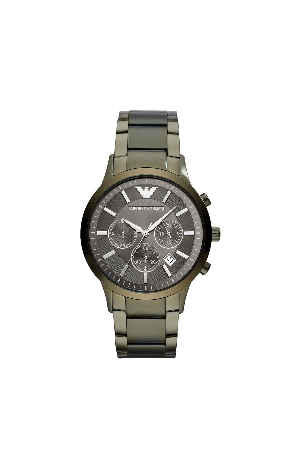 092e58f5293 Relógio Empório Armani Masculino Classic Renato Verde Militar -  AR11117 1VN. undefined